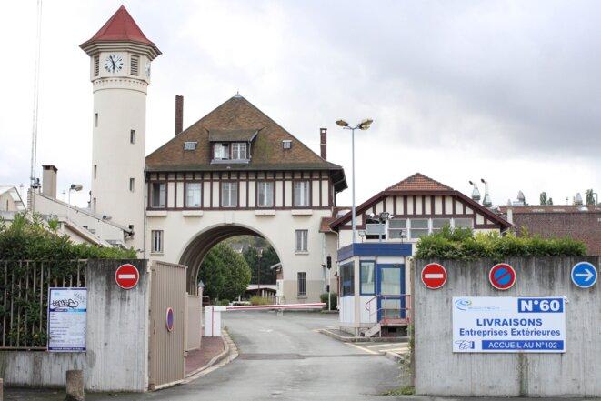 Les anciens bâtiments Roussel à Romainville.