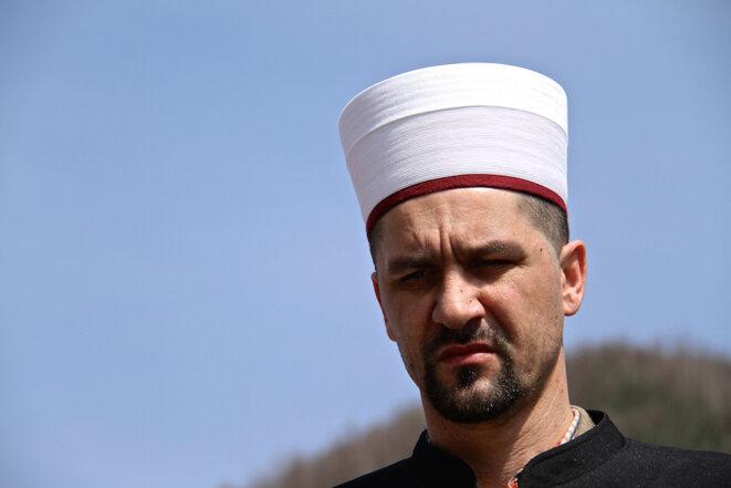 L'imam Damir Pestalic. © Laurent Geslin