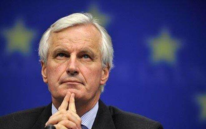 Le commissaire européen Michel Barnier.