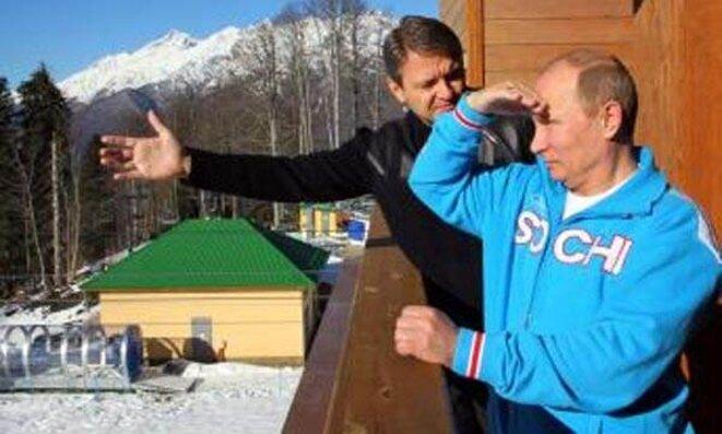 Vladimir Poutine à Sotchi.