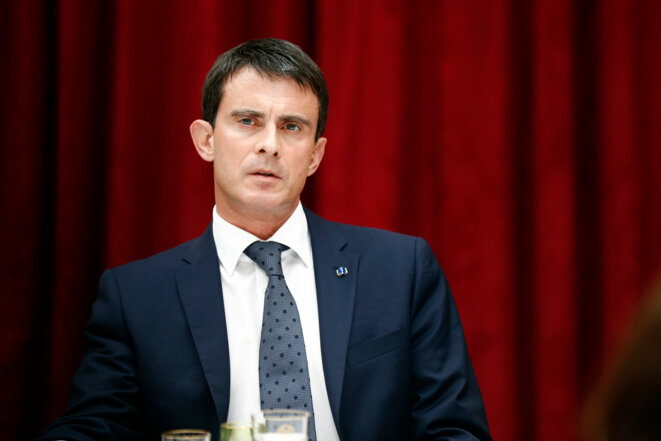 Manuel Valls, le 22 juillet dernier. © Reuters