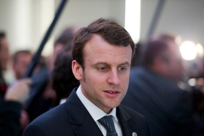 Emmanuel Macron, nouveau ministre de l'économie, de l'industrie et du numérique.