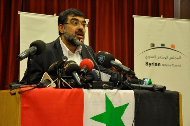 Imad Din Rachid, membre du Courant islamique libéral.