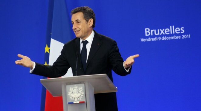 Nicolas Sarkozy, le 9 décembre, conférence de presse.