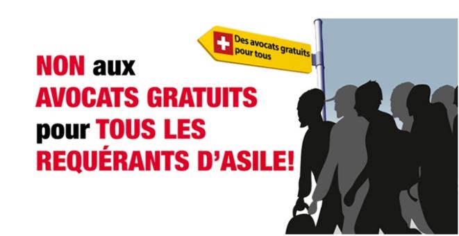 Une affiche électorale de l'UDC.