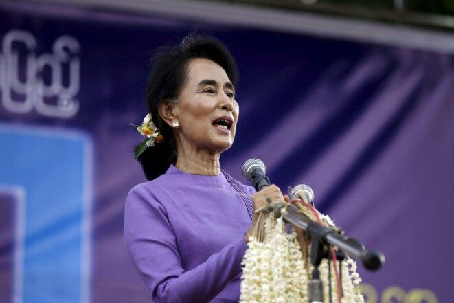 Aung San Suu Kyi. © Reuters