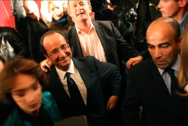 François Hollande, le 9 octobre 2011.