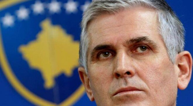 Le ministre de l'intérieur du Kosovo, Bajram Rexhepi. © (dr)