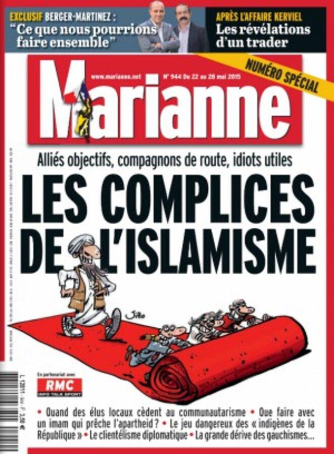 La couverture du n°944 de «Marianne».