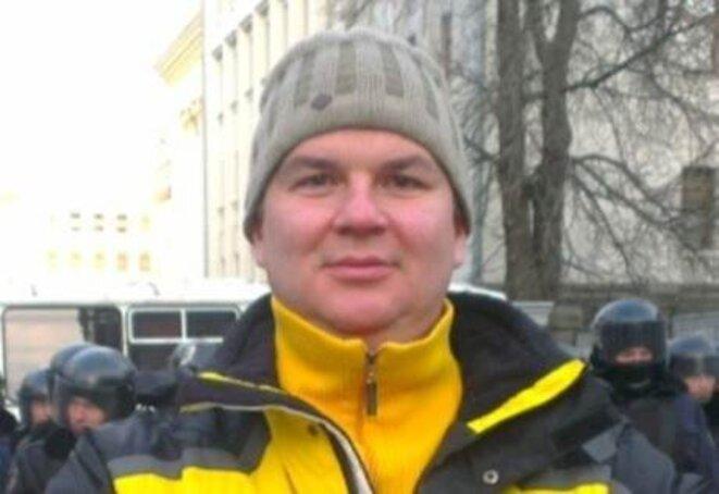 Dimitri Boulatov avant son enlèvement.