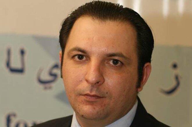 Mazen Darwish, arrêté et emprisonné en février 2012.