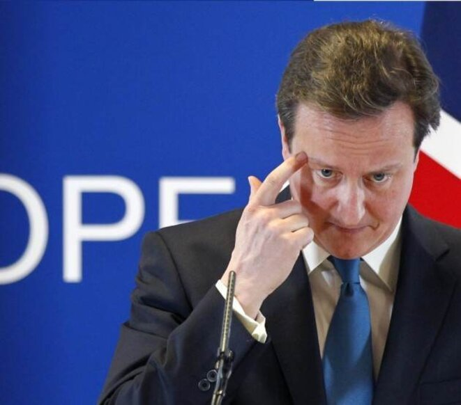David Cameron devra franchir le premier obstacle des élections législatives de 2015. © (Reuters)
