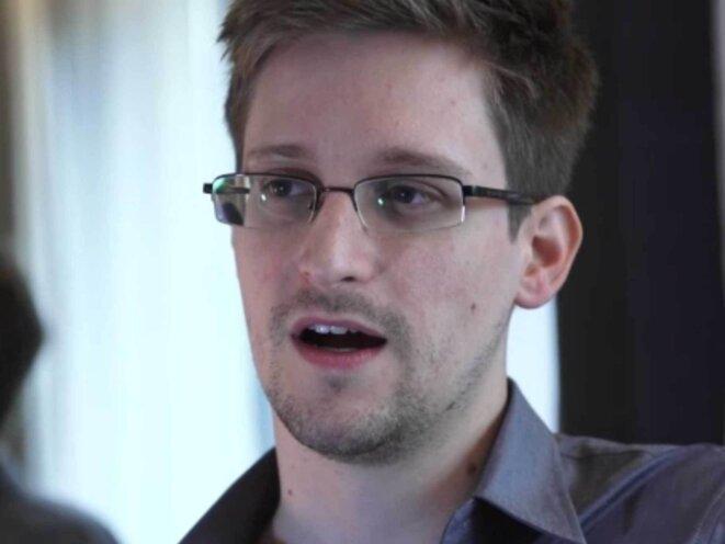 """Edward Snowden, le """"lanceur d'alerte""""."""