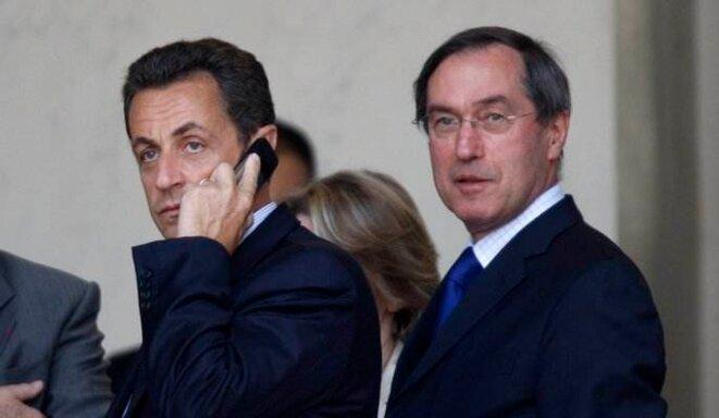 Nicolas Sarkozy et Claude Guéant. © Reuters