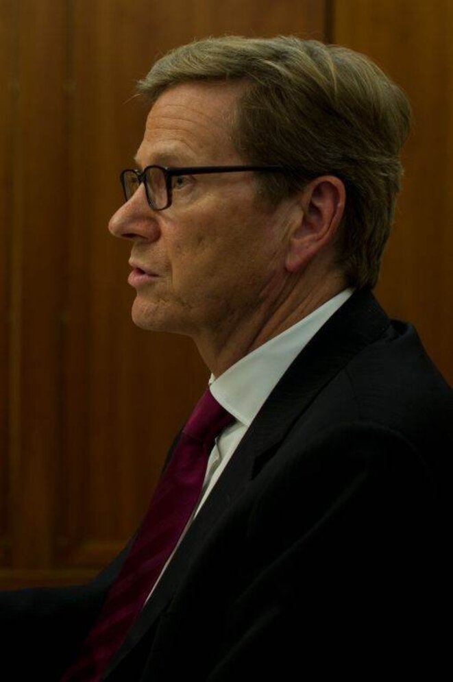 Guido Westerwelle. © (dr)