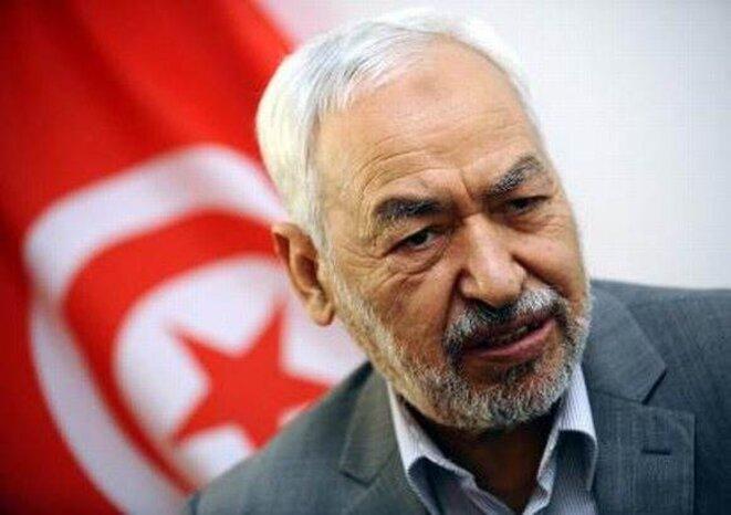 Ghannouchi, leader d'Ennahda.