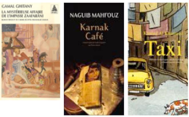 Voyage en littératures arabes dans Arts graphiques, BD, illustrateurs livs