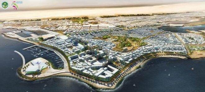 Nouadhibou du futur.  © (document zone franche de Nouadhibou)