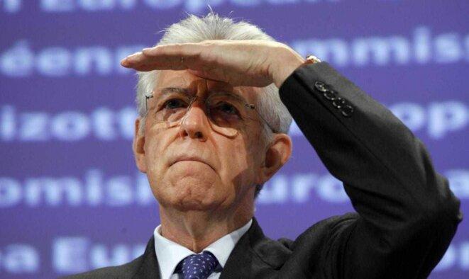 Mario Monti, à peine 10% des voix et un échec flagrant. © Reuters