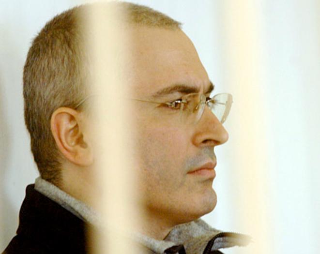 Khodorkovski lors de son premier procès.