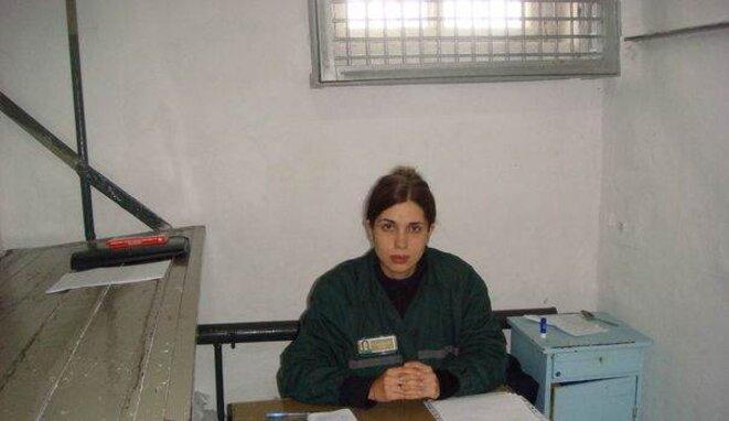 Nadedja Tolokonnikova, des Pussy Riot.