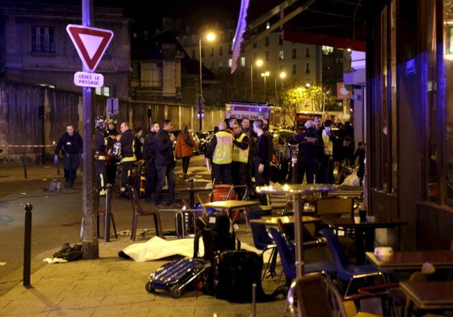 Paris, vendredi soir. © Reuters