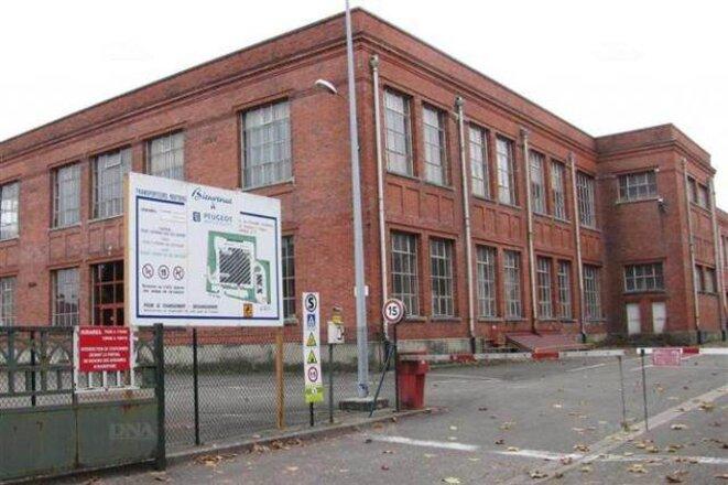 L'usine de Dannemarie.