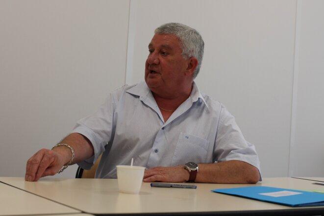Pierre Georget, maire (PRG) de Vitry-en-Artois et président de la communauté de communes.