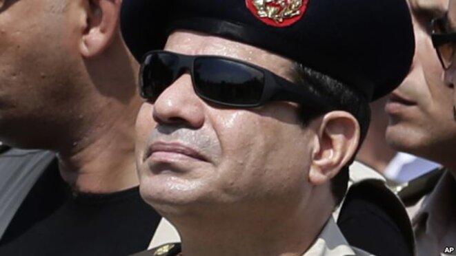 Al Sissi, élu avec... 93% des voix. © (dr)