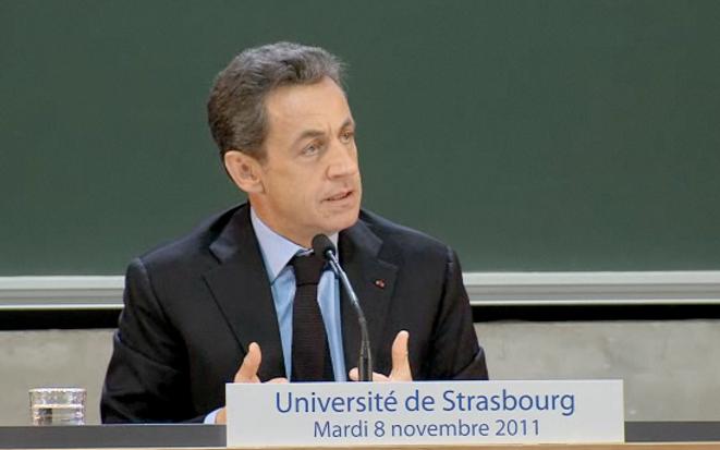 Nicolas Sarkozy, le 8 novembre.