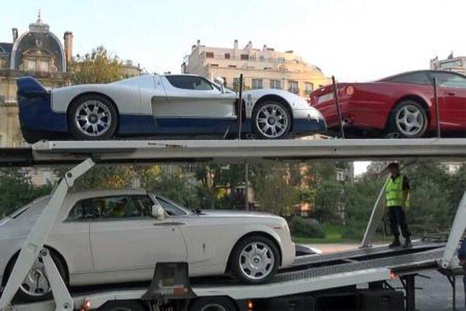 Saisie de voitures. © (dr)