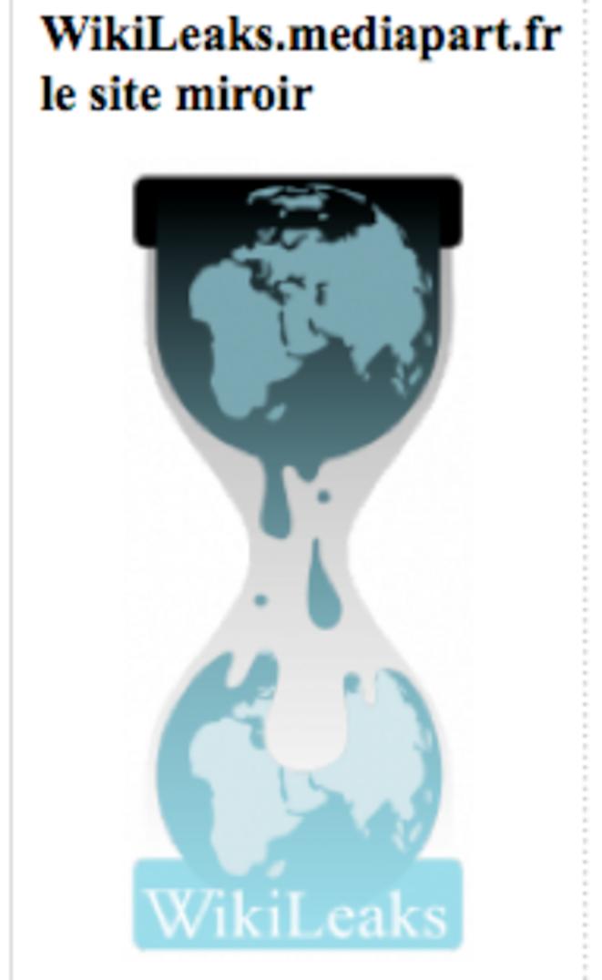 Site miroir de WikiLeaks.