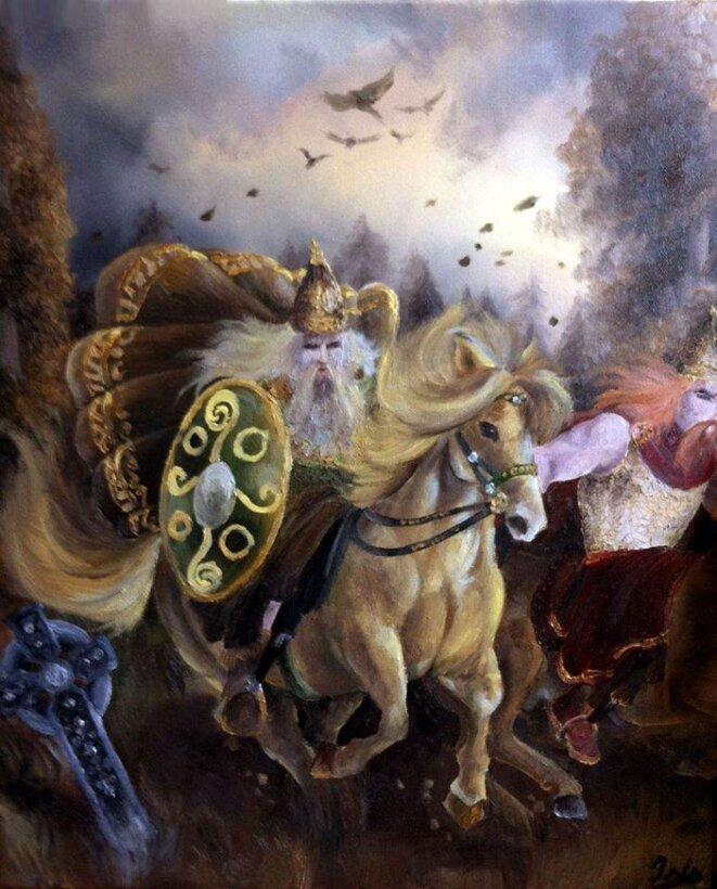 Huile sur toile 55 x 46 cm © Isis Sangaré