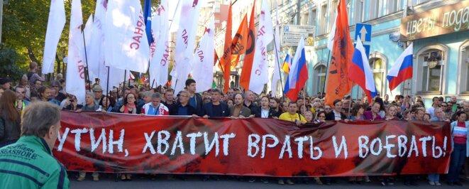 Manifestation pour la paix