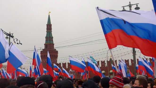 Le 1er mars de Kitaï Grod au pont Bolchoï Moskvaretskii © CB