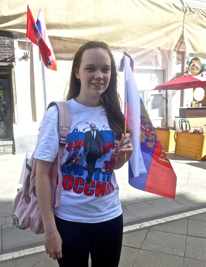 J'aime Poutine et la Russie... © CB