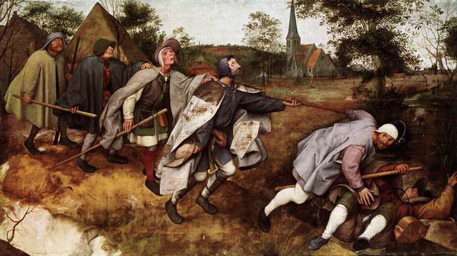 Peter Bruegel - Les aveugles