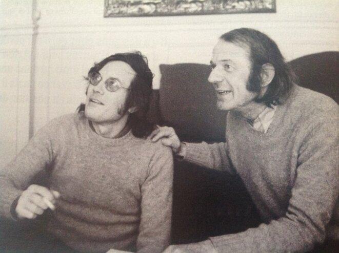 Gilles Deleuze et Félix Guattari (DR)