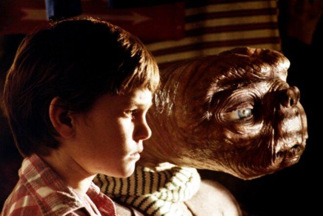E.T de Steven Spielberg