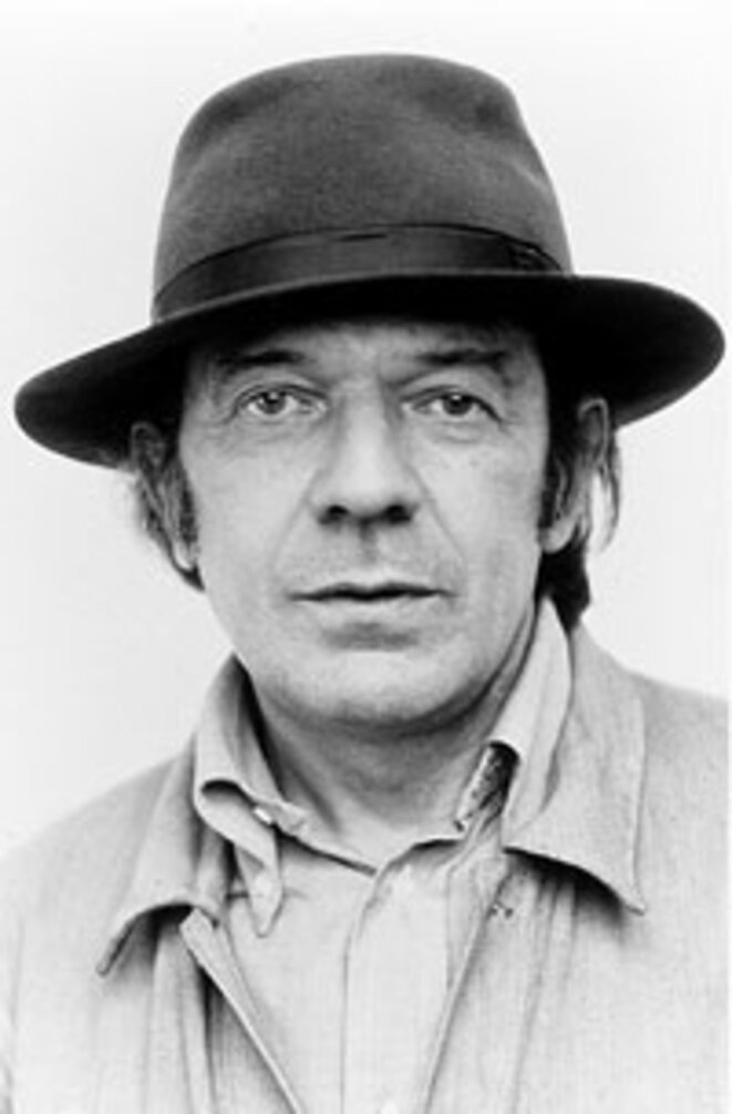 Gilles Deleuze (photo Marie-Laure de Decker)