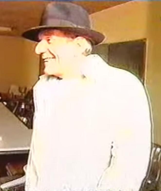 Gilles Deleuze à Paris 8 (DR)
