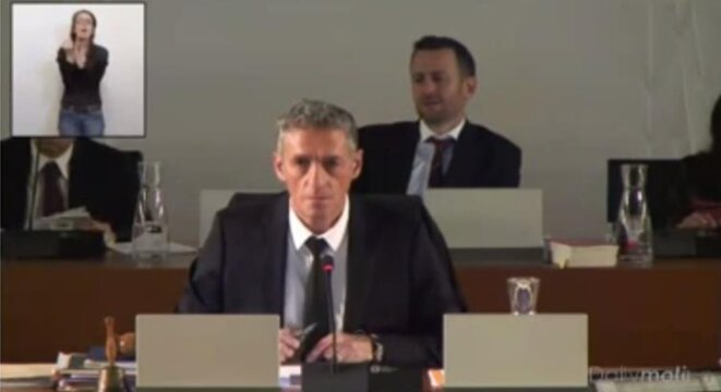 Philippe Saurel - Maire de Montpellier - Conseil Municipal du 17 décembre 2014