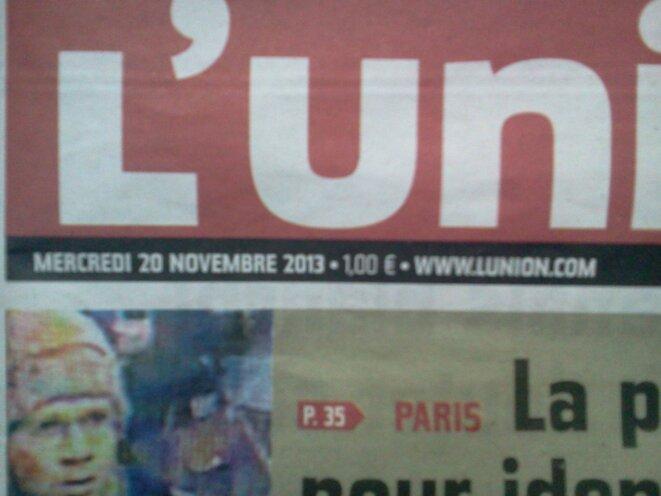 L'union 20-11-2013