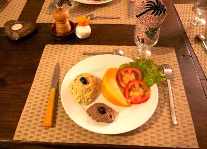 assiette végétarienne © GJ
