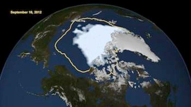 Pour la calotte glacière, c'est cuit! © NASA