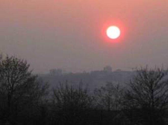 Bry sur Marne, 18h30. © pol