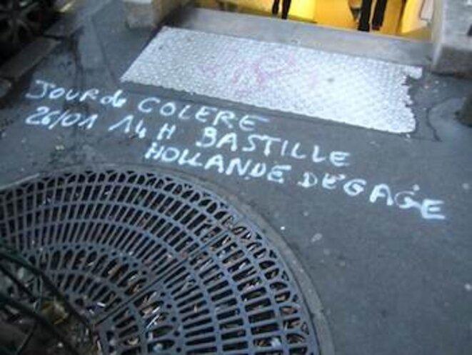 À L'entrée du Métro © pol