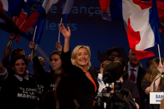 M. Le Pen le 19 novembre.