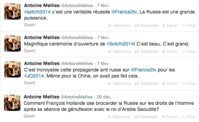 Sur le compte Twitter D'Antoine Mellies.