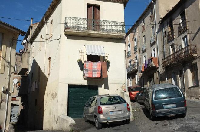 À quelques rues du centre-ville historique de Béziers. © M.T. / Mediapart